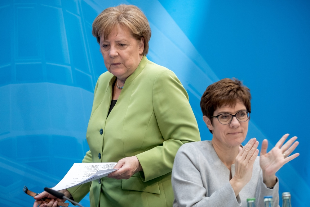 Merkel said that Europe can no longer rely on U.S.  protection