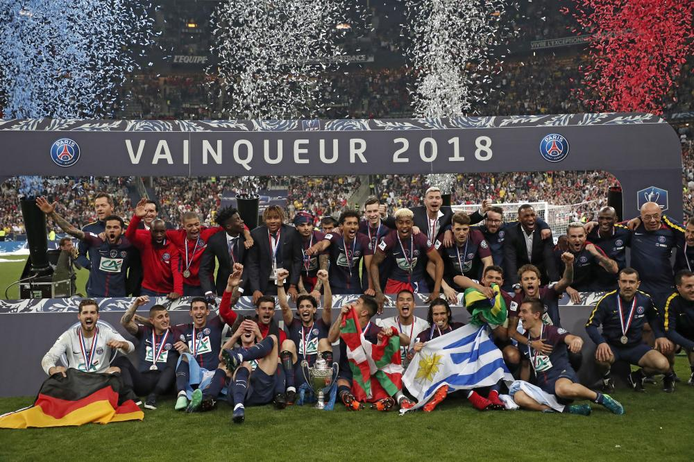 Paris St Germain win 12th French Cup title