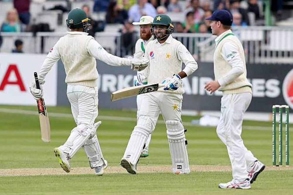 Ireland bowl in inaugural Test against Pakistan
