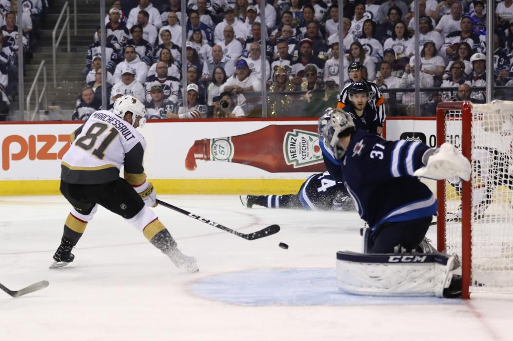 NHL Playoffs: Golden Knights Top Jets With 2nd-Period Spurt