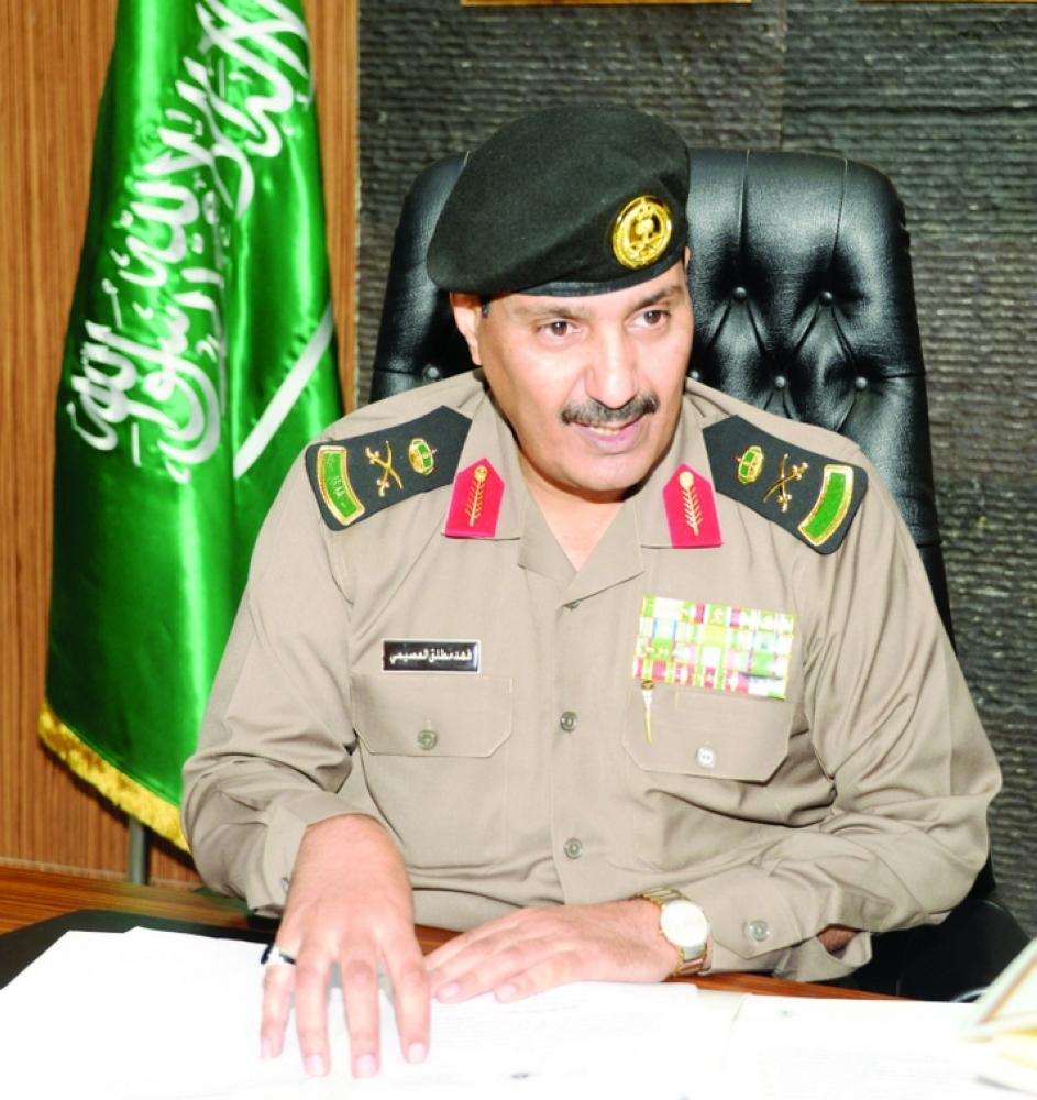 Maj. Gen. Fahd Bin Mutlaq Al-Ossaimi
