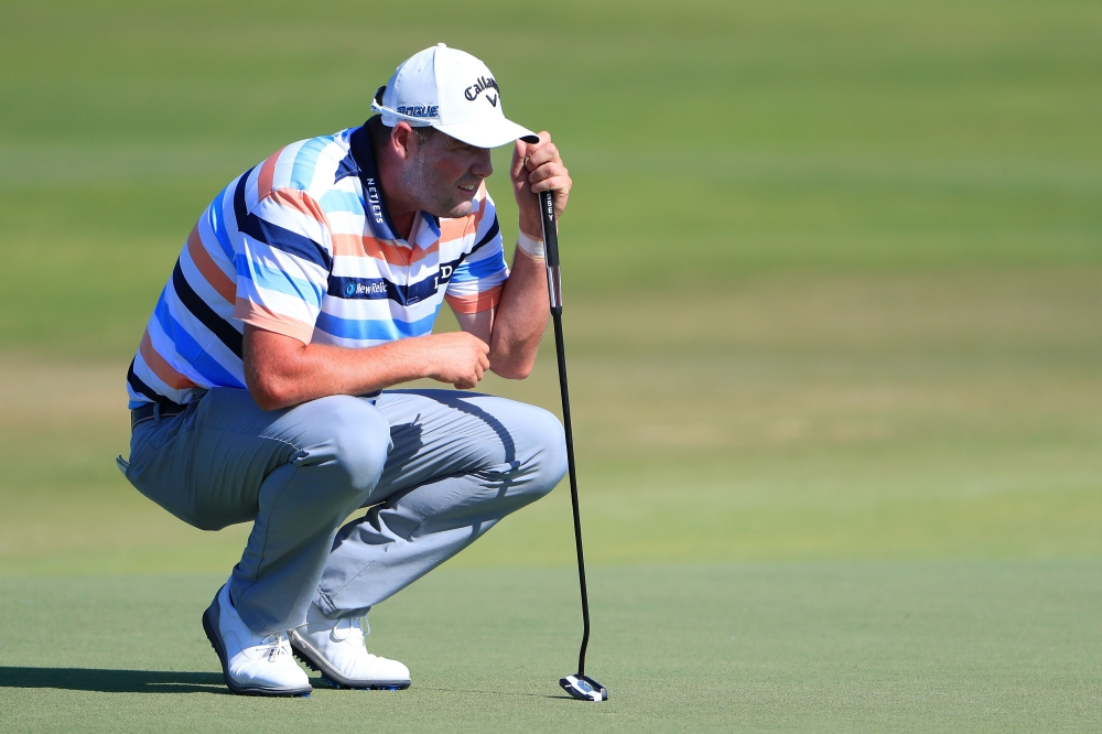 Marc Leishman continues to lead at the AT&T Byron Nelson