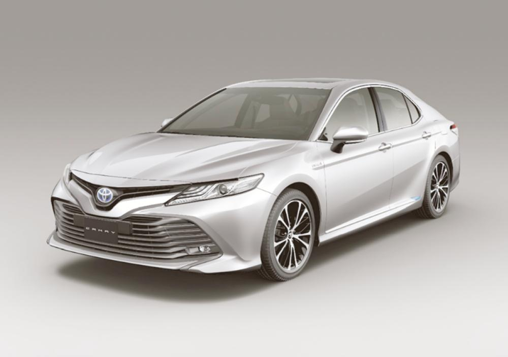 All-new Camry Hybrid  launched in Saudi Arabia