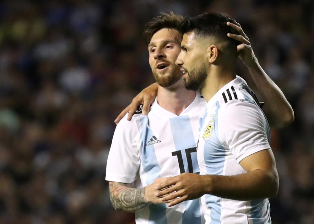Messi, Aguero train with Argentina ahead of FIFA World Cup 2018