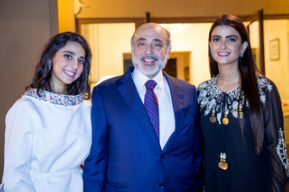 Alessandra Ambrosio, film director Maram Taibah, and the very own TV personality Ola AlFares