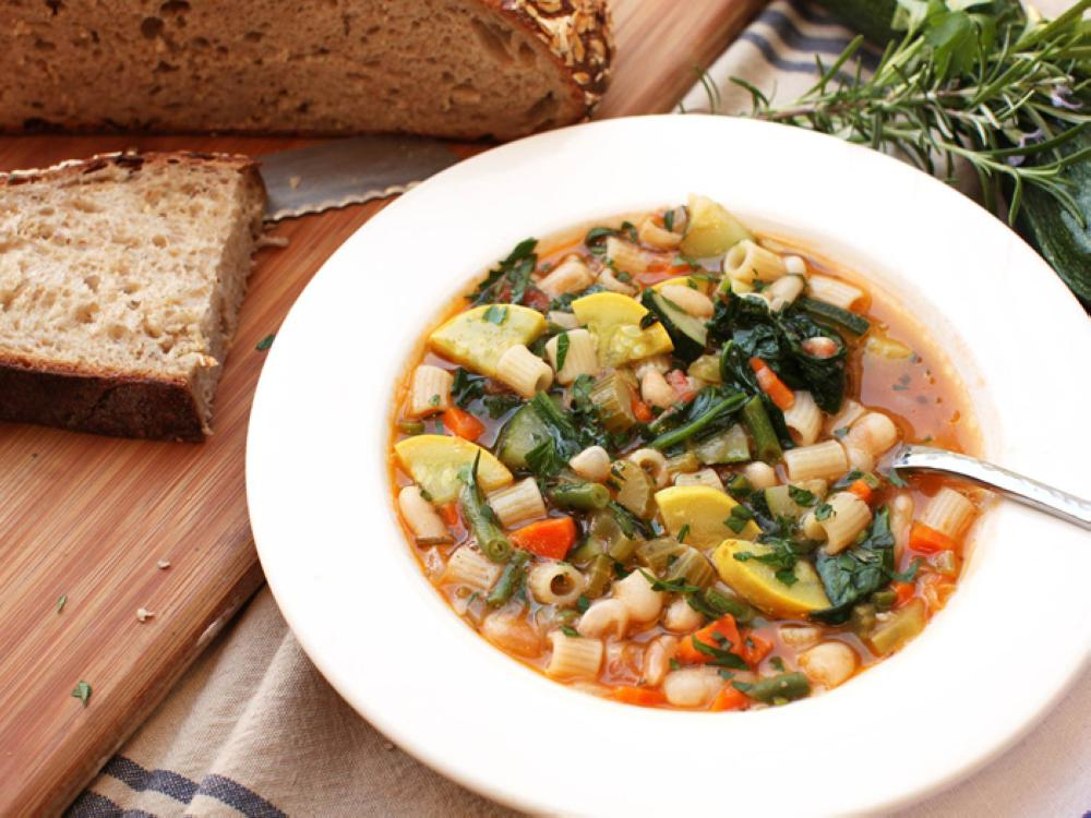 Healthy soups for breaking the fast
