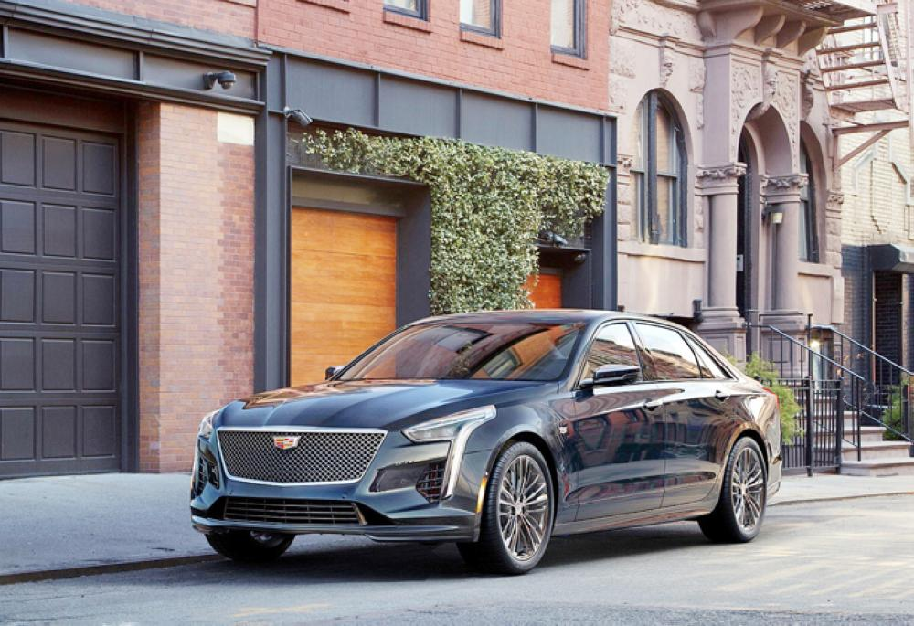 Cadillac Unveils First Ever Twin Turbo V 8 Engine Saudi Gazette