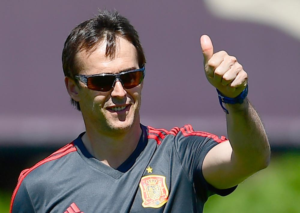 Julen Lopetegui has been sacked by Spain