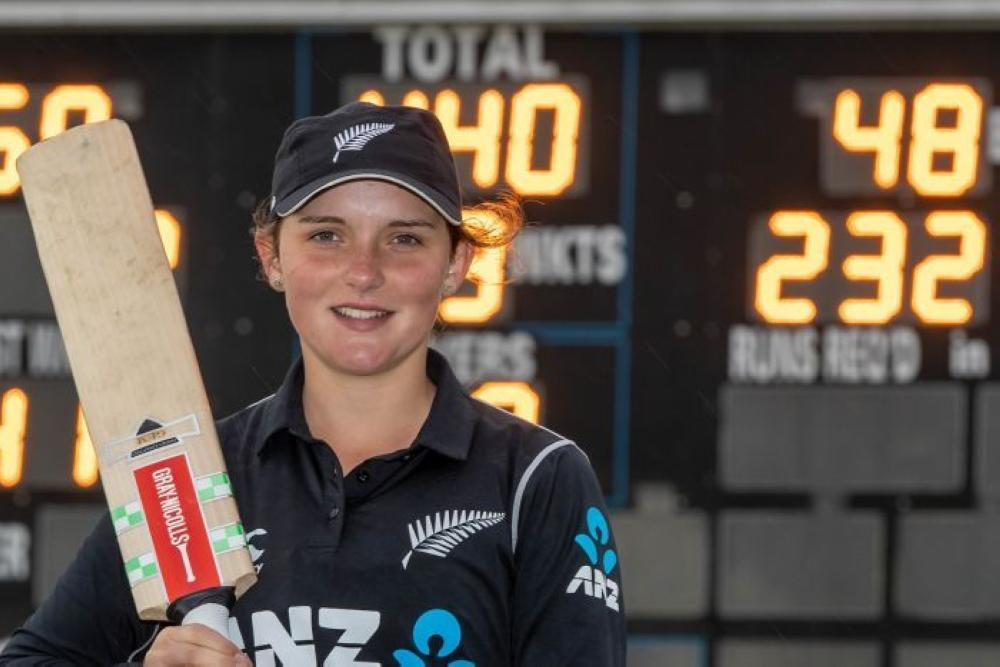 New Zealand's Amelia Kerr hits 232 not out, smashes women's ODI record