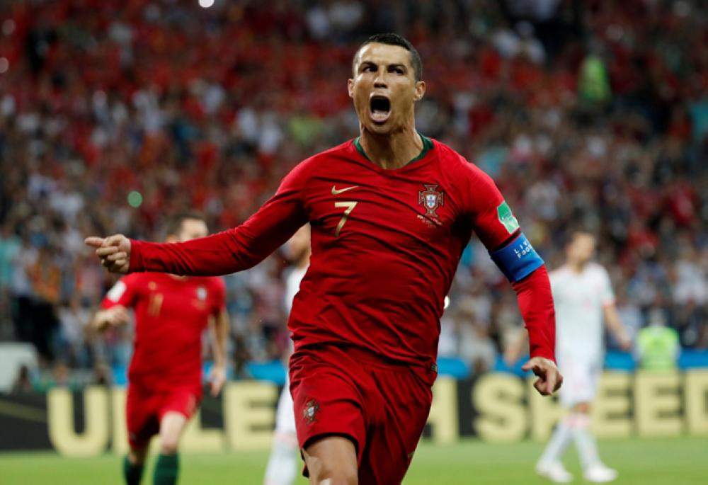 Cristiano Ronaldo sets another new record with penalty against Spain