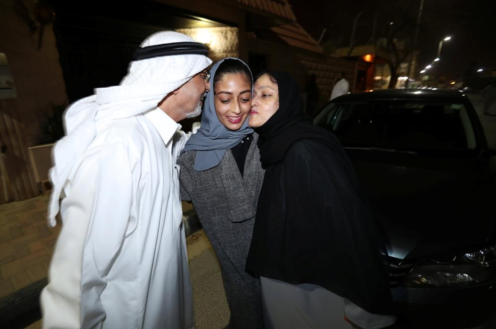 Excitement as Saudi women hit the road
