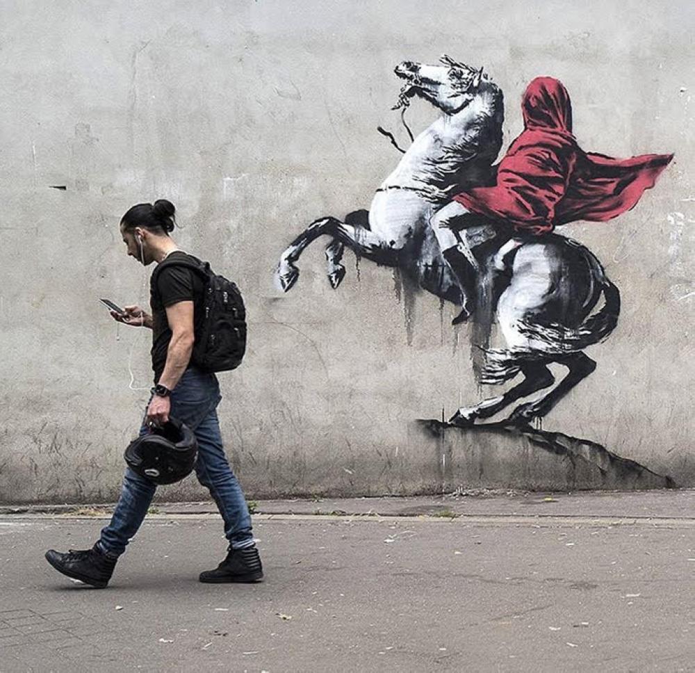 Art News Banksy Confirms Authorship Of Provocative Paris Mural