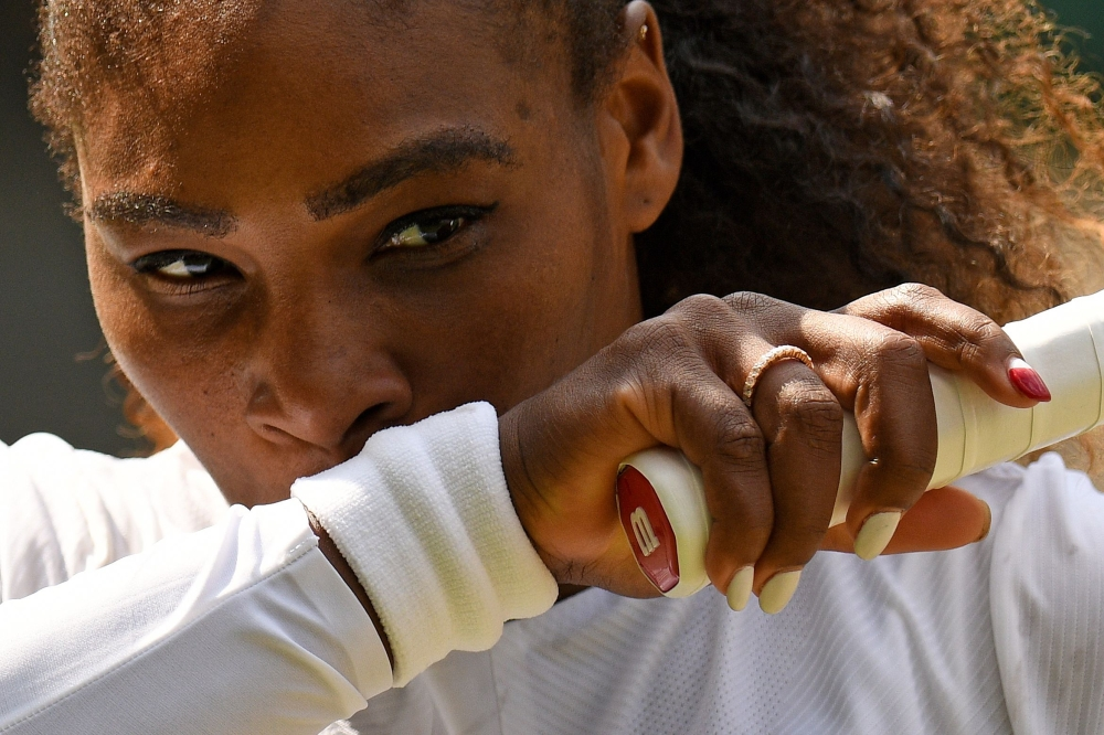 Williams starts her 11th Wimbledon semifinal