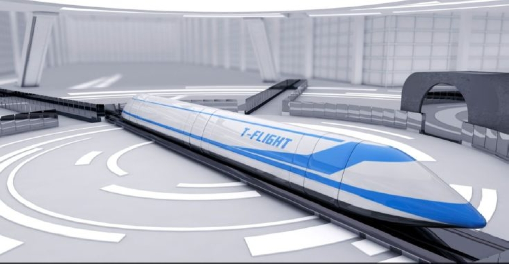 China in deal to build its first hyperloop system