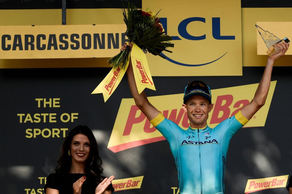 Third Tour de France stage win for Sagan as Thomas retains lead