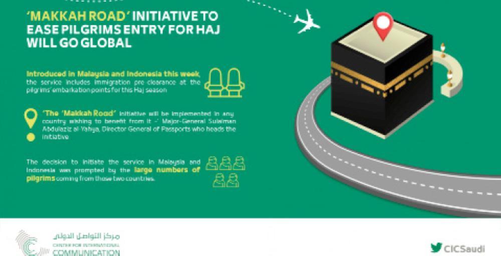 Makkah Road initiative eases pilgrims' entry into Saudi Arabia