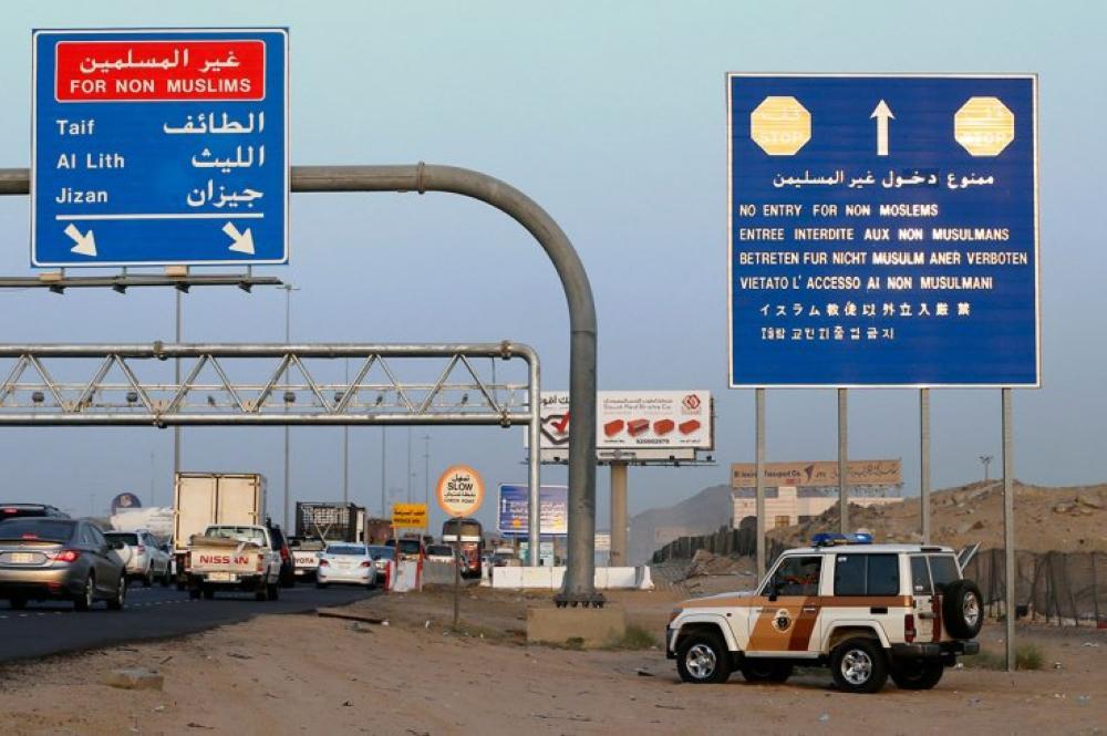 Makkah entry ban in force