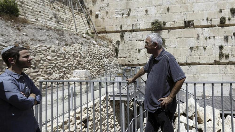 220-Pound Stone Drops From Western Wall, Narrowly Missing Worshipper