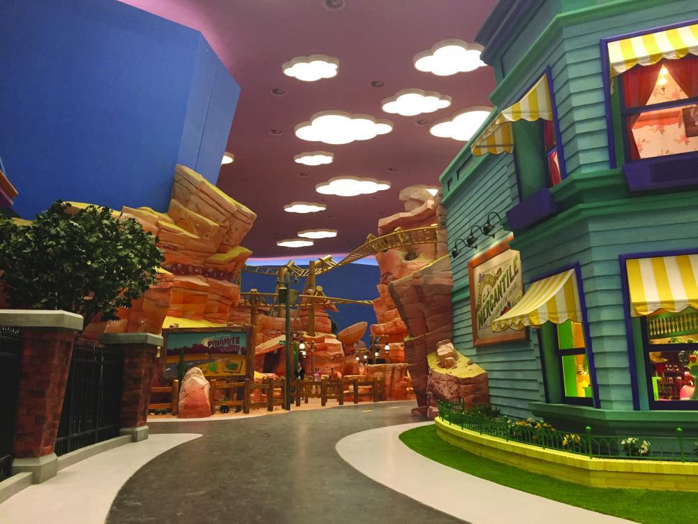 Warner Bros. World Abu Dhabi theme park open to the public