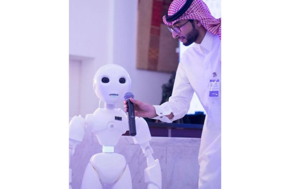 The robot has been named Mosalem because it means peace.