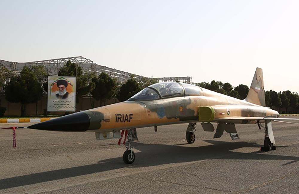 Iran unveils first domestic fighter jet - Saudi Gazette