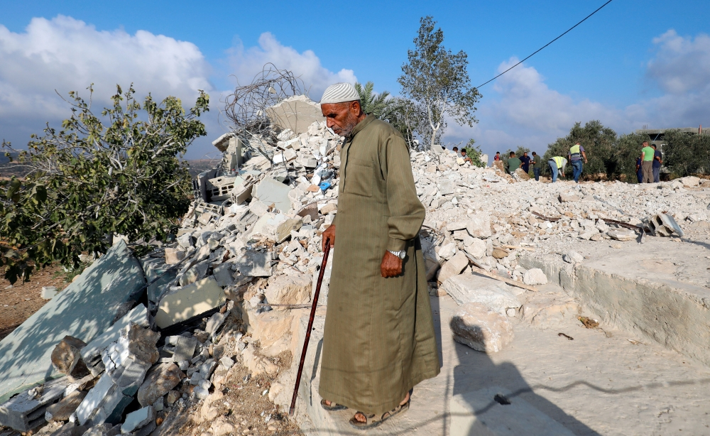 Israel Destroys West Bank Home of Palestinian Attacker