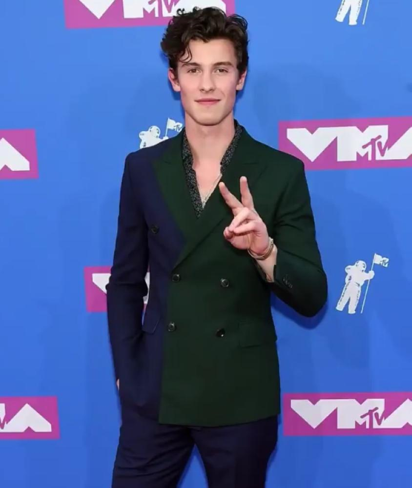 Shawn Mendes in Paul Smith