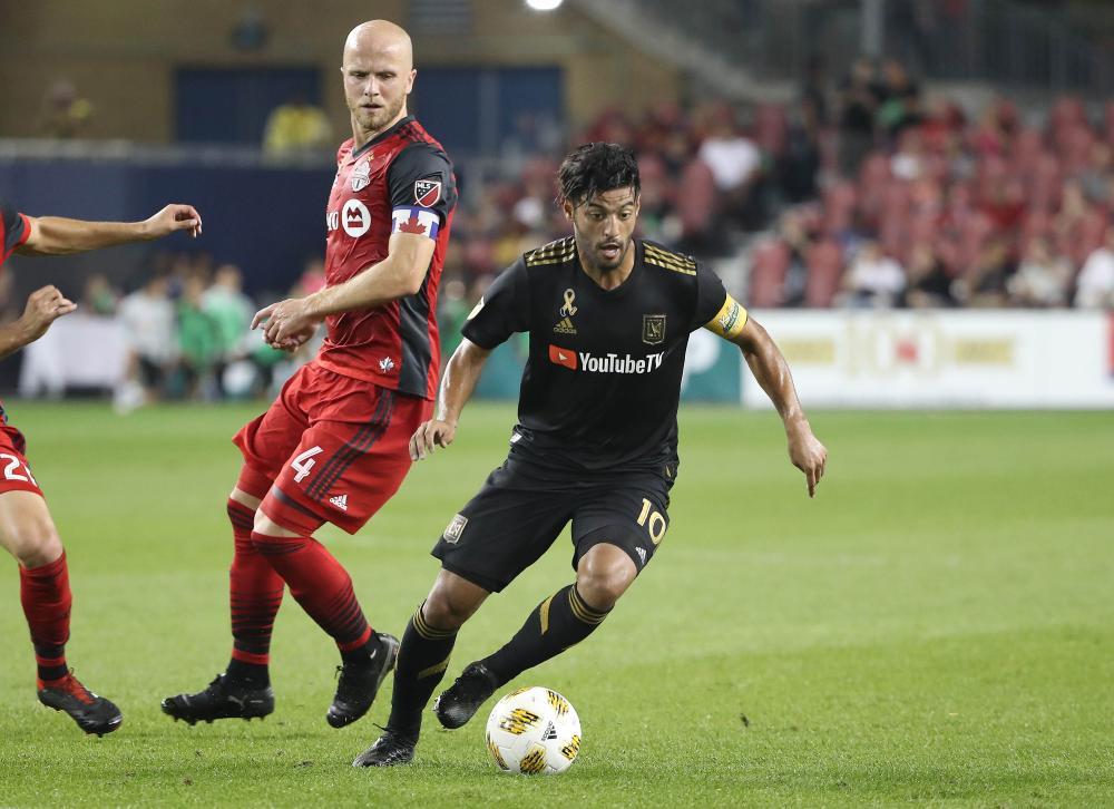 Vela's brace leads LAFC past Toronto - Saudi Gazette