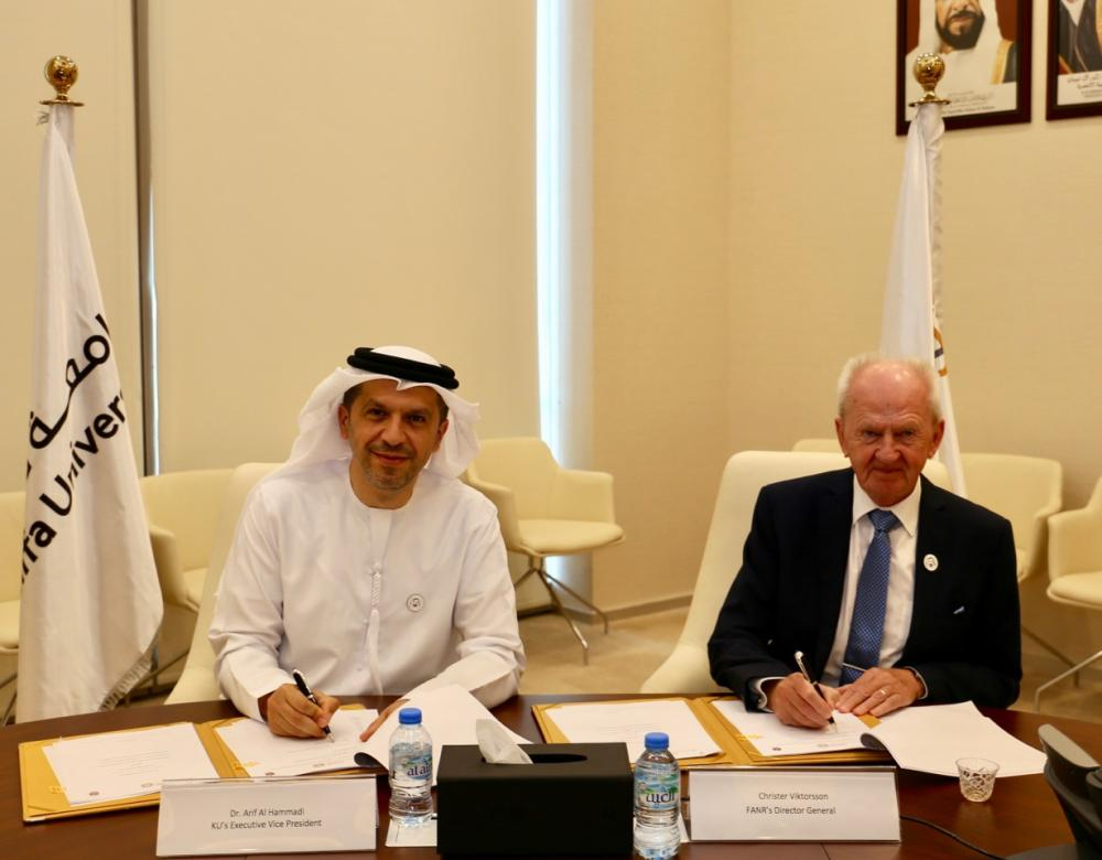 Fanr And Khalifa University Sign Collaborative Research Agreement
