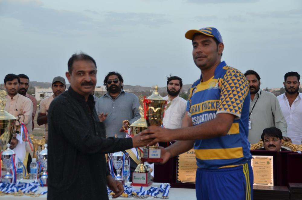 Waqas Fida — Best Bowler