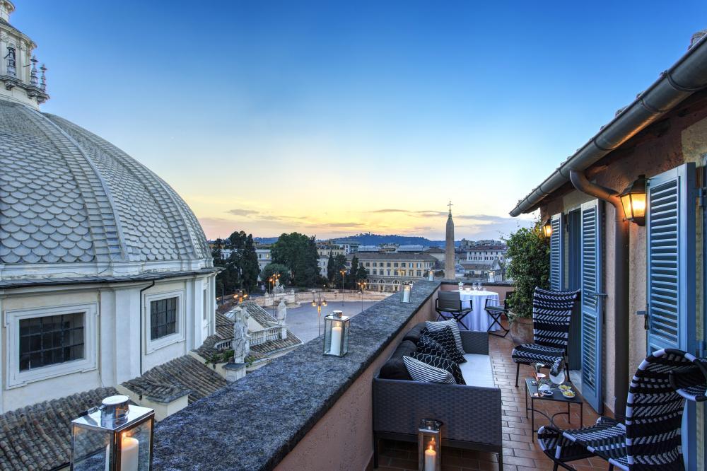RFH Hotel de Russie -Terrace - Popolo Suite