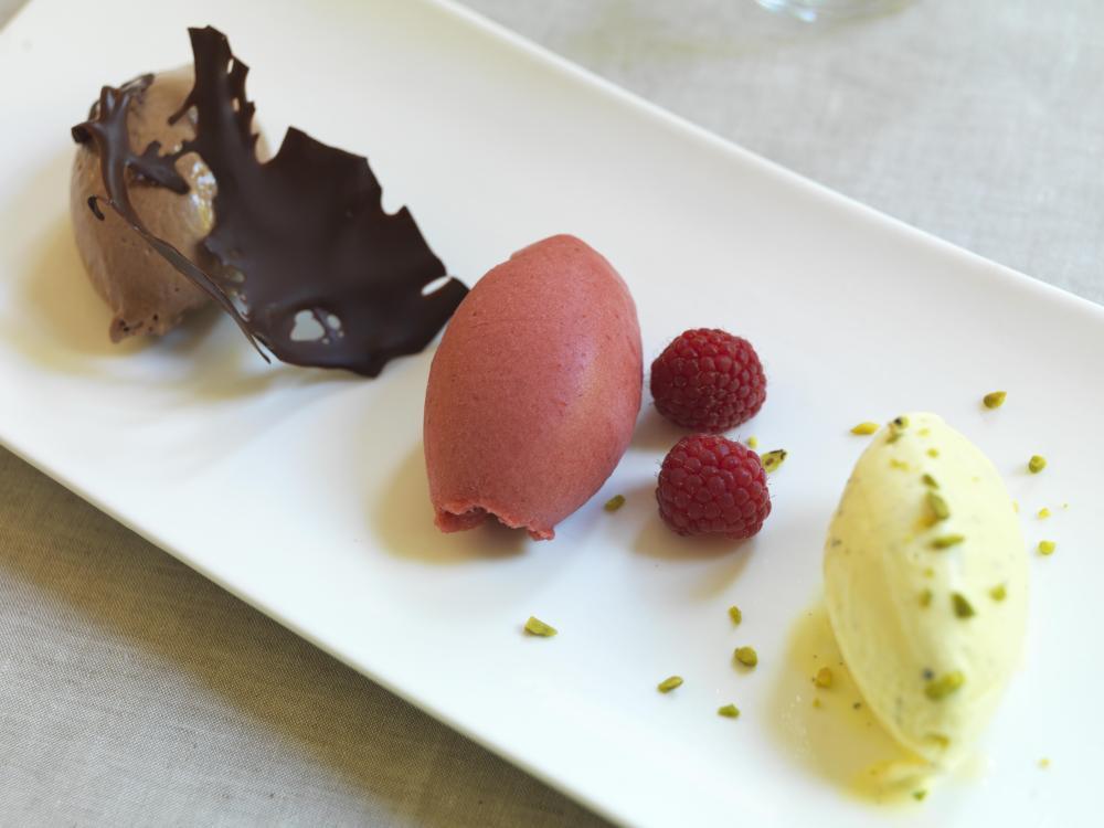 RFH Hotel de Russie - FOOD DETAIL-Gelato Trio
