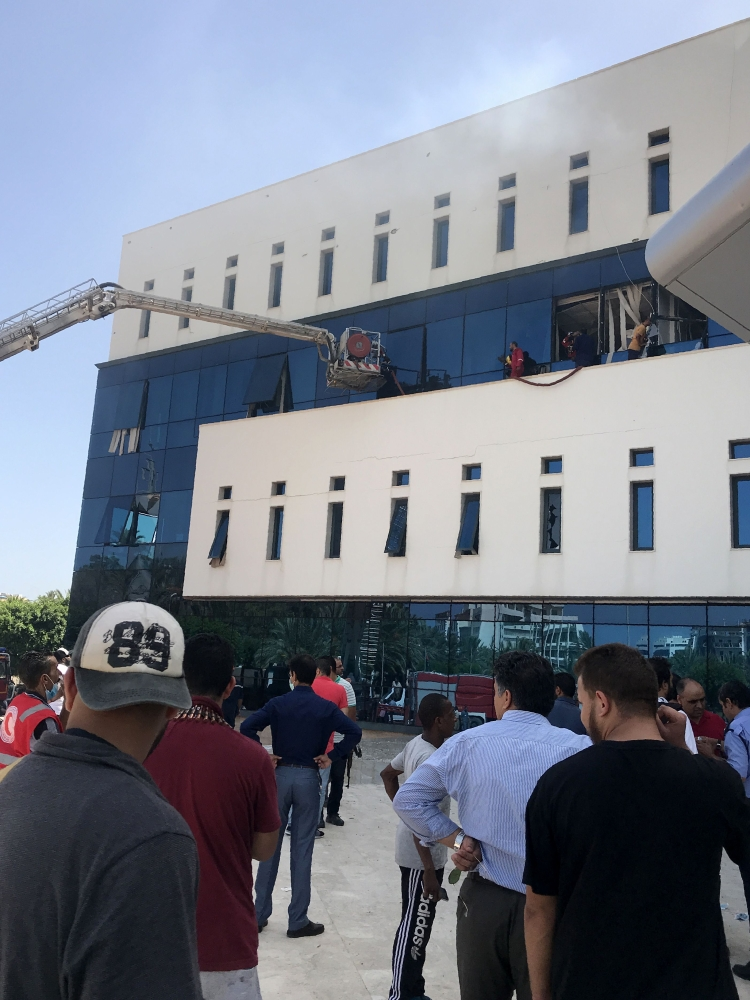 Headquarters of Libya national oil firm under attack - Saudi