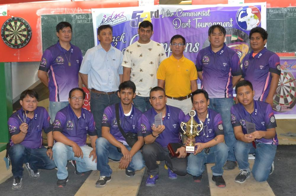 EDSA 53rd winner Vipers with guests and officials