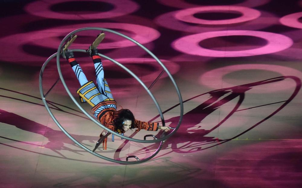 Cirque du Soleil debuts in KSA with National Day performance