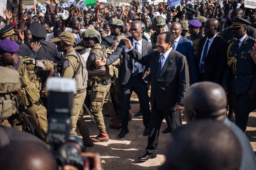Cameroon president hits the campaign trail ahead of vote - Saudi Gazette