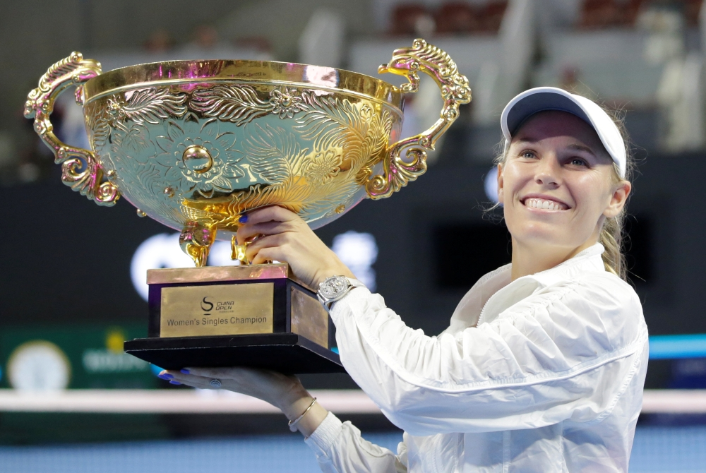 Champion's Corner: Caroline Wozniacki has one more dream after notching 30th title