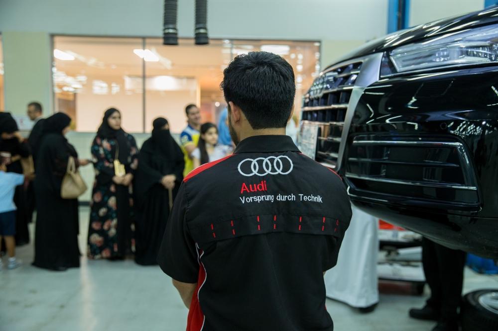 Samaco - Audi hosts technical workshop  for women in Jeddah