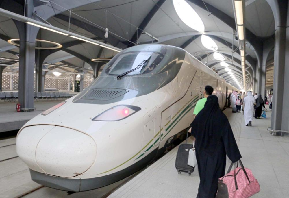 Haramain train opens to public - Saudi Gazette