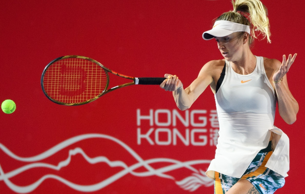 Seeded Elina Svitolina reaches Hong Kong Open quarterfinals