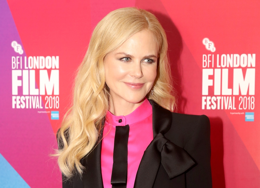 Cast member Nicole Kidman arrives at the world premiere of