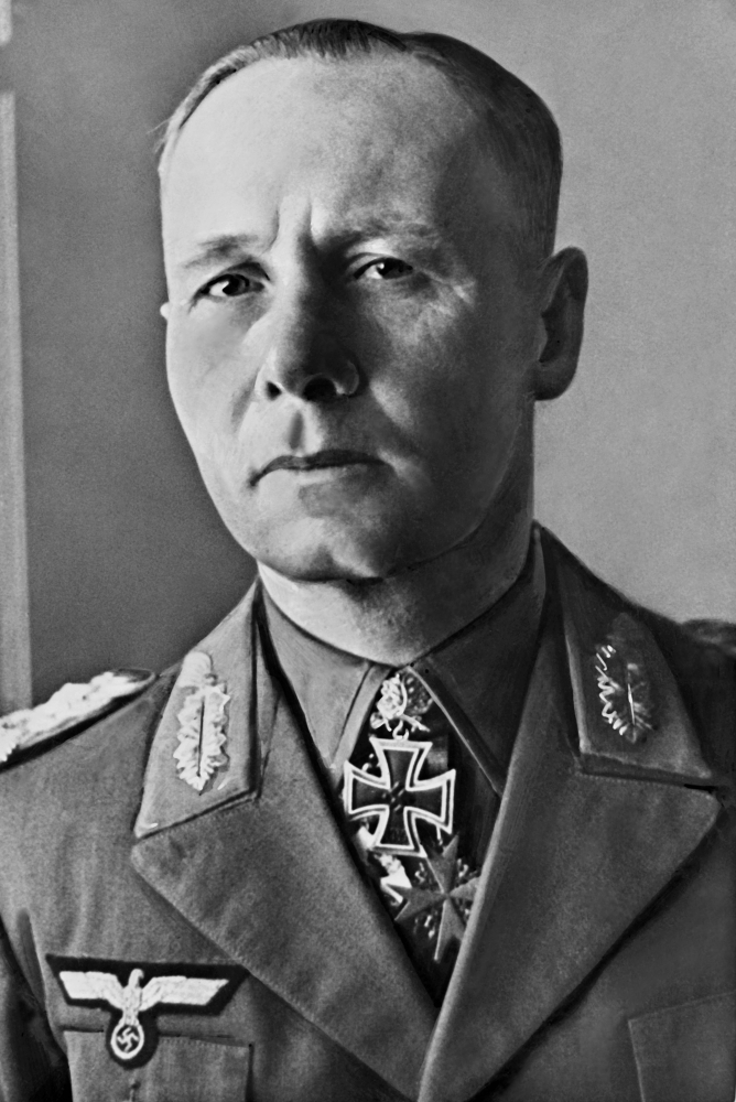 This undated file photo shows German Nazi General Erwin Rommel. — AFP