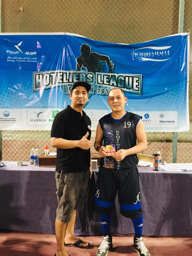 Player of the Game Rommel Yalung