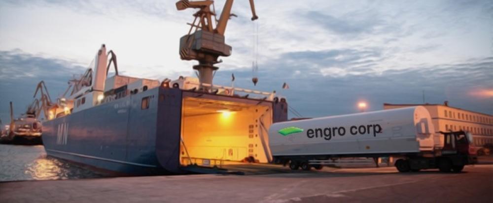 Engro's LNG vessel arrives in Pakistan.