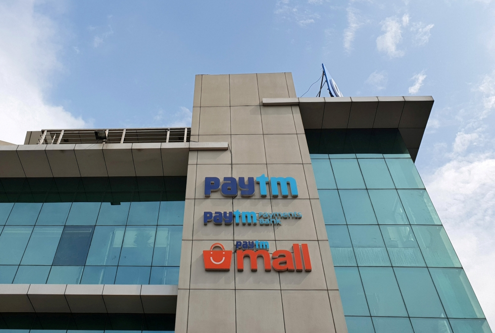 The headquarters for Paytm, India's leading digital payments firm, is pictured in Noida, India, in this Aug. 29, 2018 file photo. — Reuters