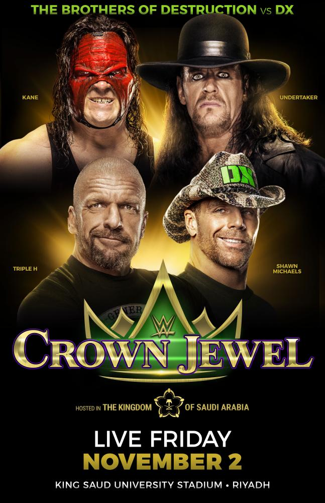WWE Crown Jewel tickets available