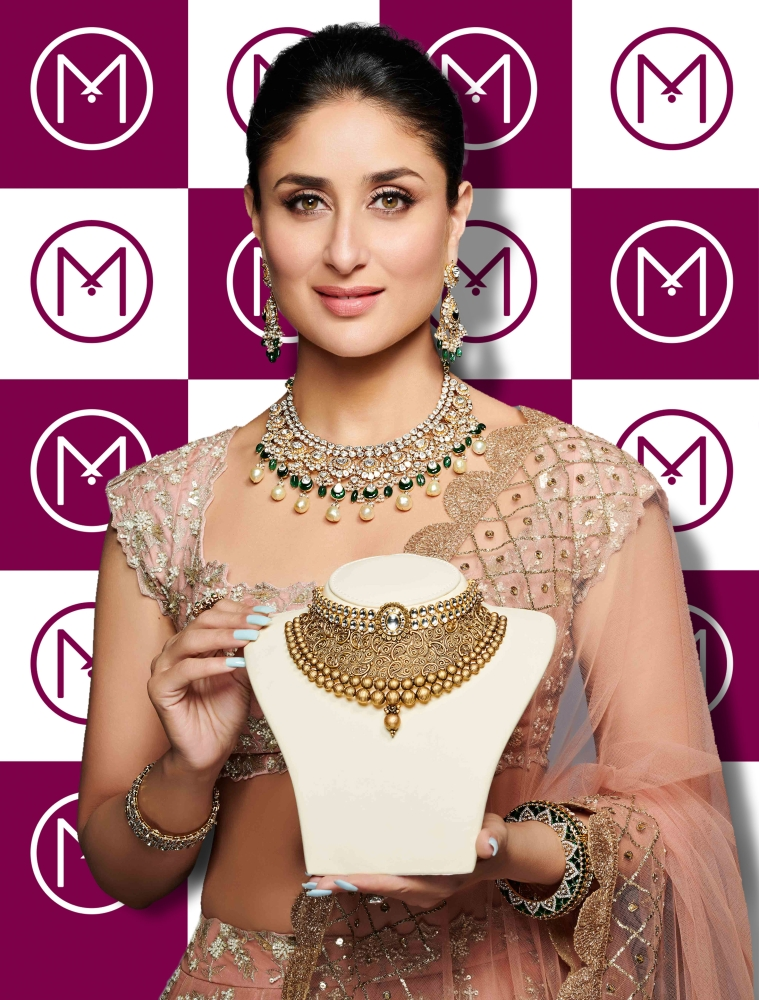be9705adb Kareena launches the new festive jewelry collection of Malabar Gold ...