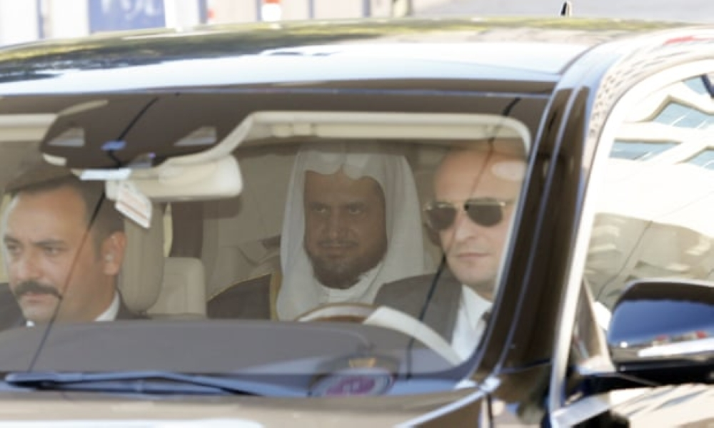 Khashoggi 'strangled as soon as he entered consulate'