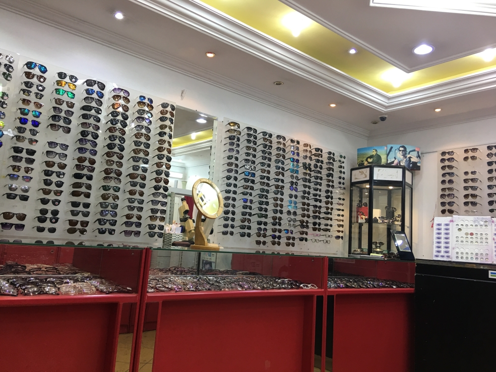 Some of the optical stores are run by expatriates under tasattur arrangement with their employers.