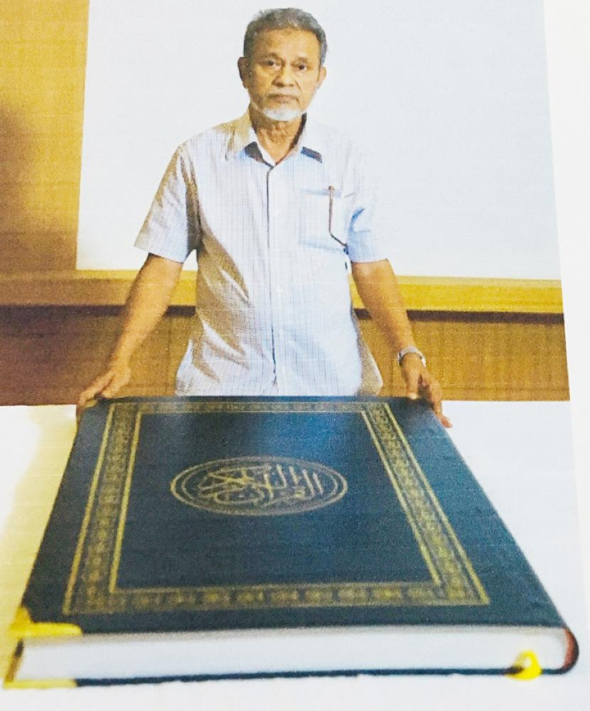 Largest manuscript copy of Qur'an ready; to be donated to Makkah Haram library